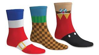 SEGA Official Sonic the Hedgehog Socks