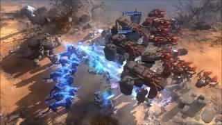 Art of War: Red Tides - gameplay - final wave