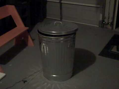 2009 halloween pop up trash can prop youtube. Black Bedroom Furniture Sets. Home Design Ideas