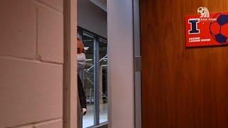 Illini Soccer | Demirjian Locker Room Reveal