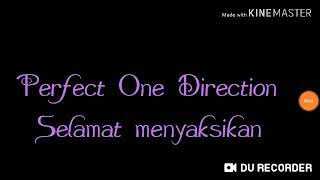 Real Drum Lagu perfect - one direction