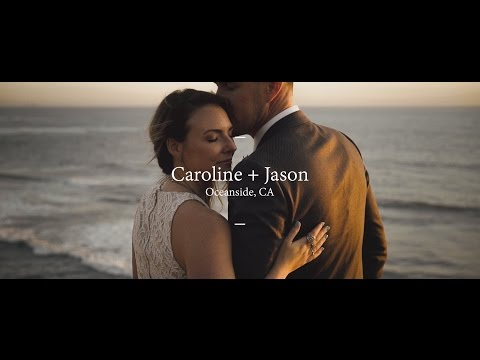 Wedding Film  // Oceanside, CA // Caroline + Jason