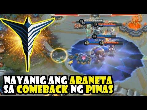 ARKANGEL COMEBACK LABAN SA OVERCLOCKERS [GAME 1] LOWER BRACKET SEMI FINALS HIGHLIGHTS