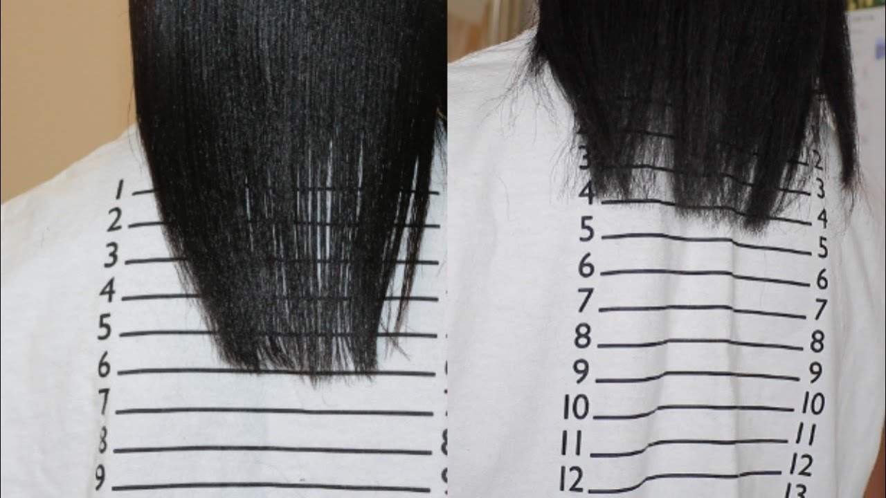 Inversion Method 1inch In 1 Week Grow Your Hair Overnight