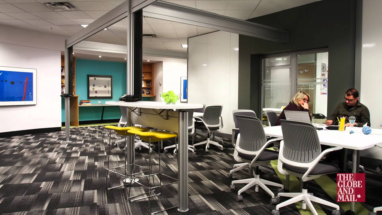 The Amazing Space: High Tech Office Keeps Workers Plugged In, Happy    YouTube