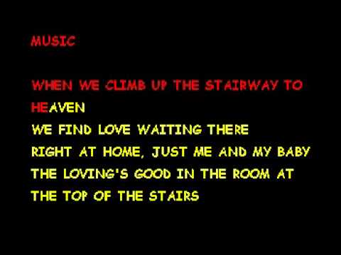 Room At The Top Of The Stairs Eddie Rabbitt Karaoke Youtube