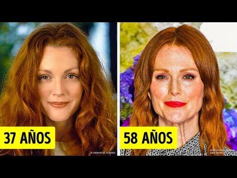18 Mujeres mayores de 50 años que nunca han tenido una cirugía plástica