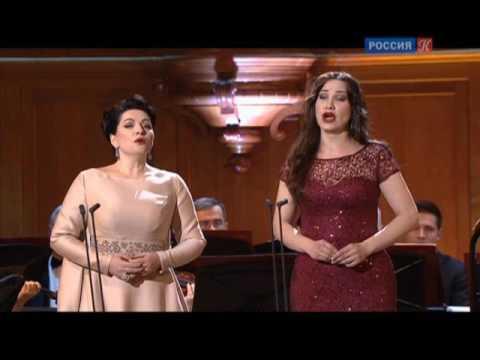 "J.Offenbach. Tales of Hoffman, Hibla Gerzmava, Ksenia Dudnikova "" Belle Nuit/ Barcarolle"""