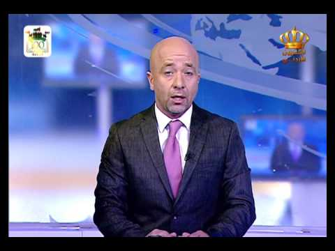 English News at Ten on Jordan Television 05-07-2016