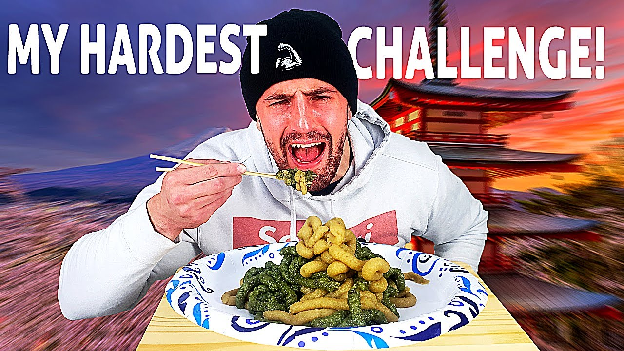 Eating 1 Pound of WASABI and Nearly Dying *MY HARDEST CHALLENGE EVER* | Bodybuilder VS Spicy Food