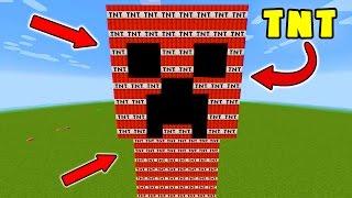 EXPLODING TNT + CREEPER ELEVATOR MINECRAFT TROLL!