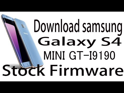 Download Samsung Galaxy S4 Mini GT-I9190 Stock Rom ! Official Firmware Update
