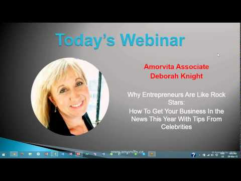 Why Entrepreneurs Are Like Rockstars - Amorvita Webinar Series