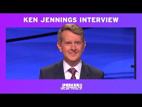 Ken Jennings: First Guest Host Exclusive Interview | JEOPARDY!
