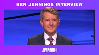 Ken Jennings: First Guest Host Exclusive Interview | JEOPARDY!