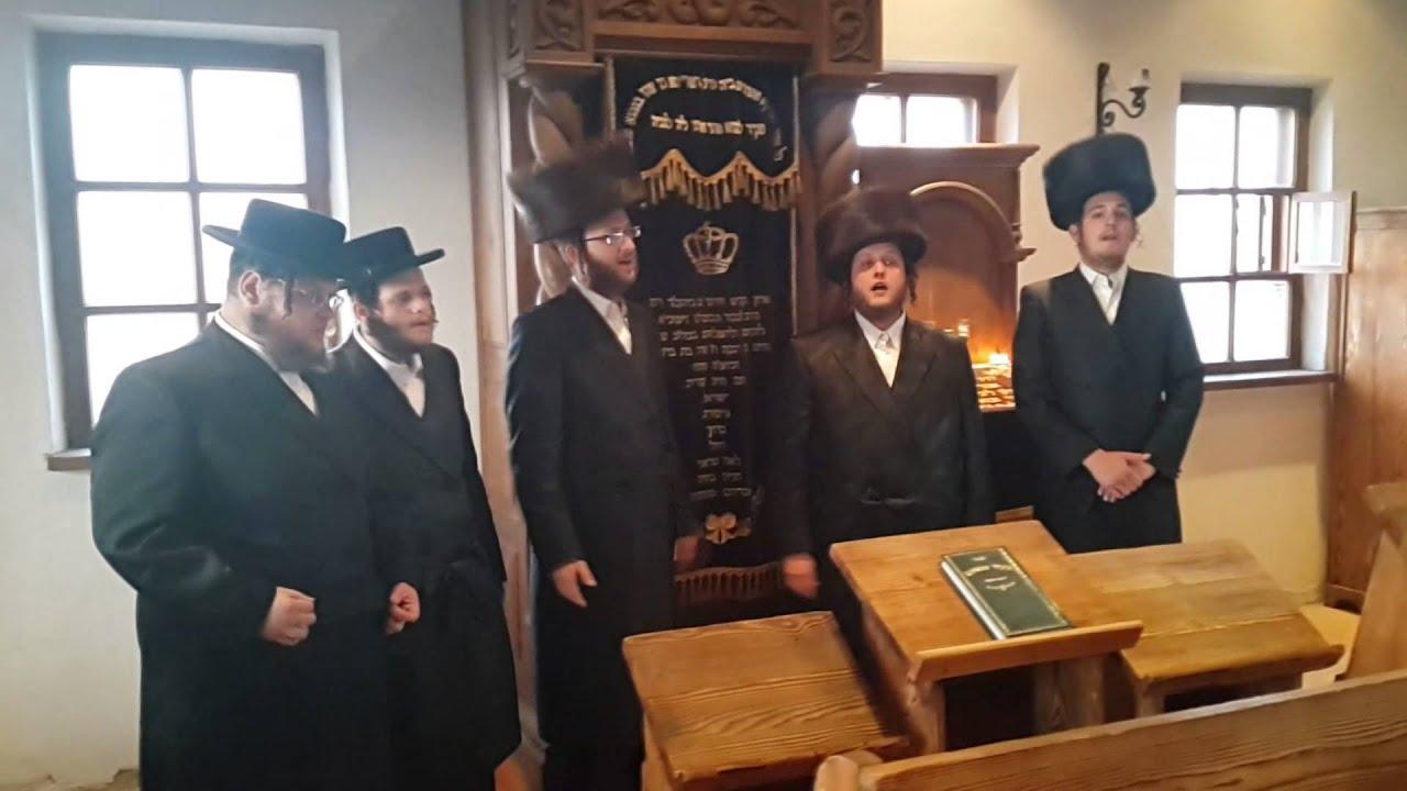 מקהלת מלכות א שבת אין מעז'יבוז ווקאלי |  Malchus Choir A Shabbos In Mezibuz Acapella