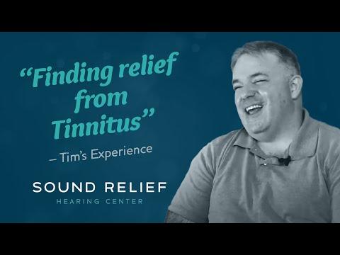 Tinnitus Relief for Tim