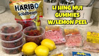 HAWAII STYLE LI HING MUI GUMMIES WITH LEMON PEEL RECIPE