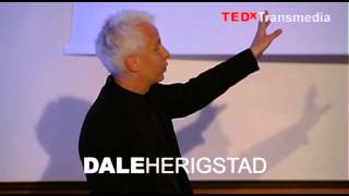 Discovering new media space: Dale Herigstad at TEDxTransmedia 2014