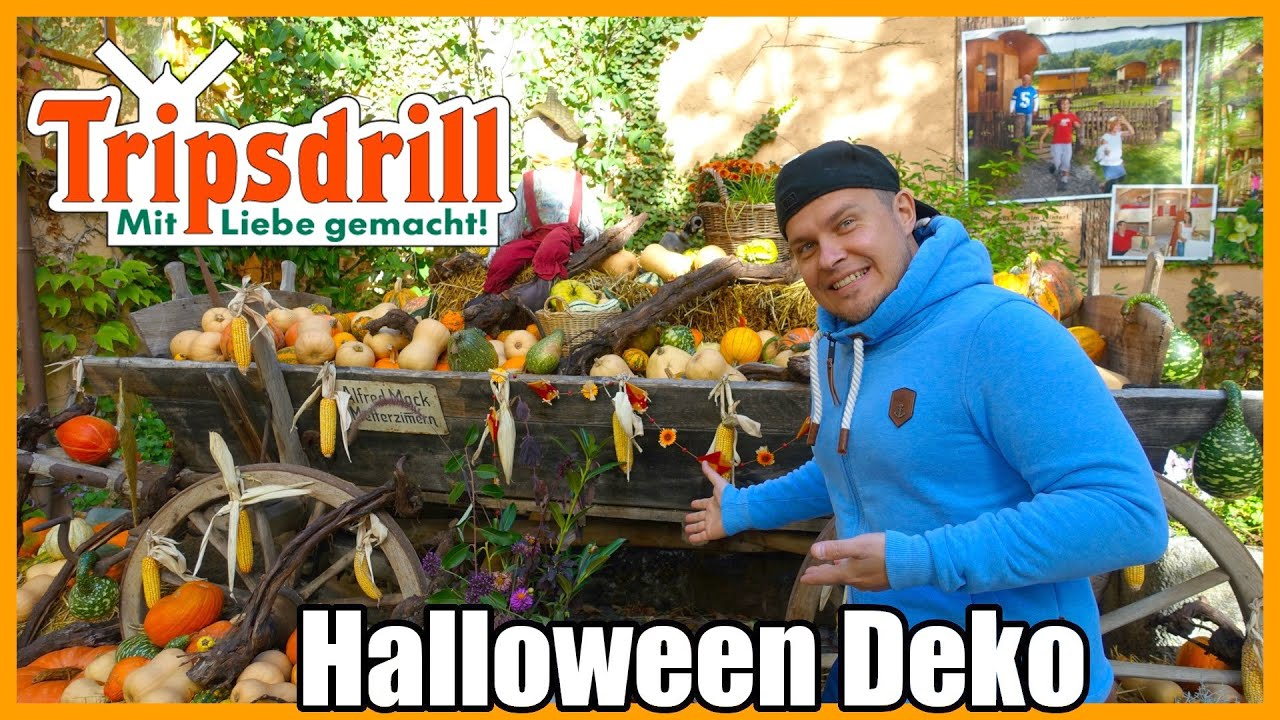 Tripsdrill Halloween Deko 2020 Youtube