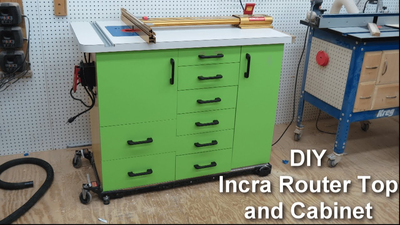 Diy incra router table and cabinet part 1 youtube diy incra router table and cabinet part 1 greentooth Choice Image