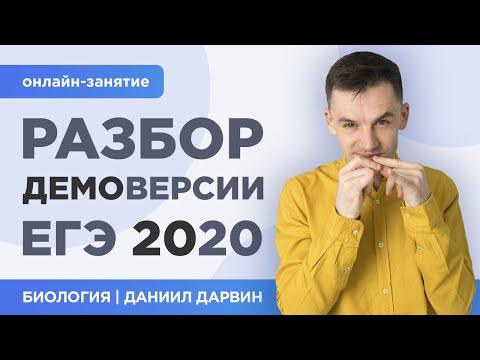 Разбор Демоверсии | ЕГЭ 2020