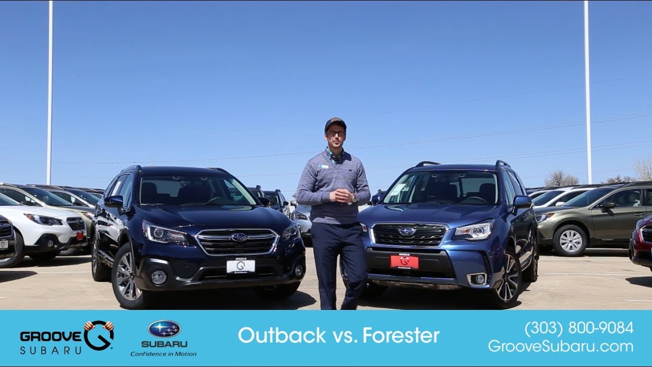 2018 Subaru Outback Vs Forester What S The Difference