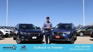 2018 Subaru Outback vs Forester: what
