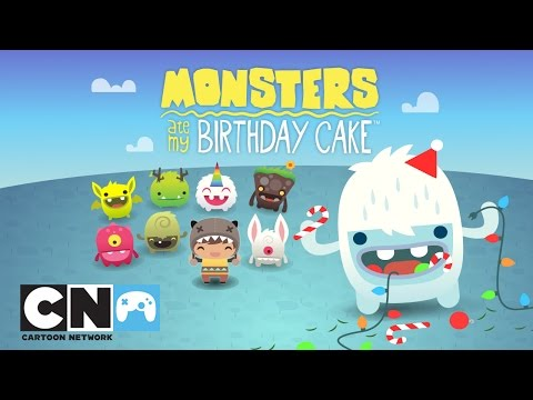 Monsters Ate My Birthday Cake Winter Update | Mobile App | Cartoon Network
