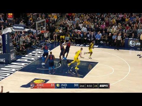 2nd Quarter, One Box Video: Indiana Pacers vs. Oklahoma City Thunder
