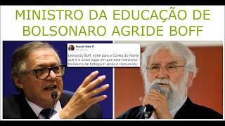 Baixar Ministro de Bolsonaro agride Leonardo Boff no twitter