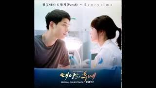 Chen of exo feat. punch (펀치) everytime / descendants the sun ost part 2