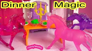 Breyer Horse Movie - Dinner Magic - Stablemates Mini Whinnies Series Part 3 Translucent Moon
