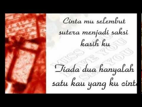 Qiara-hanya padamu (lirik)