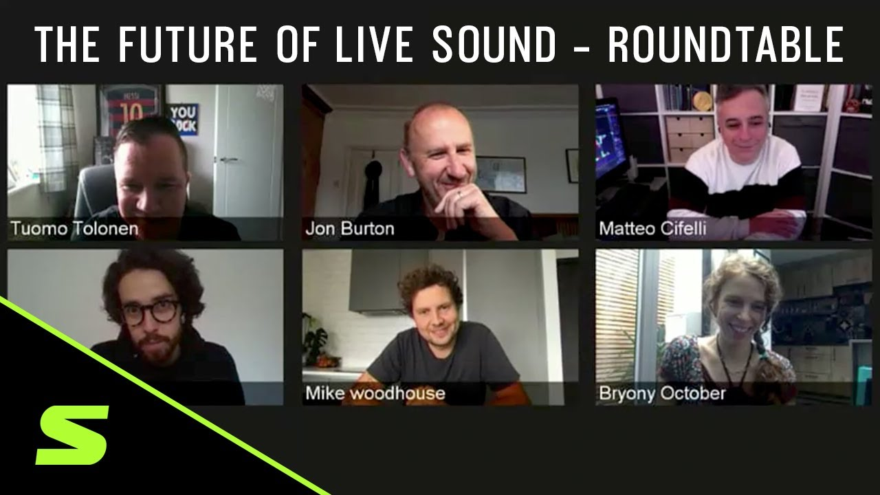 The Future of Live Sound - Roundtable Webinar
