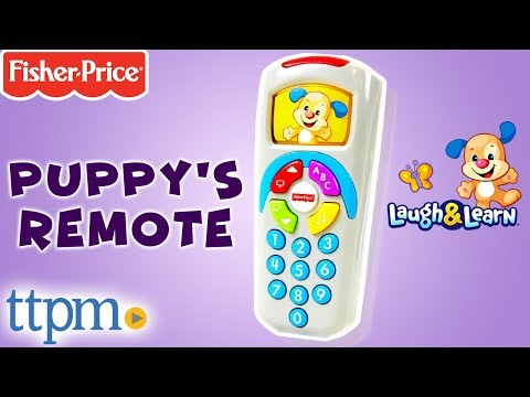 Laugh & Learn Puppy's Remote - Educational Toys From Fisher-Price