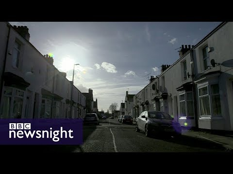 A street in Middlesbrough   - BBC Newsnight