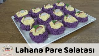 Lahana Pare Salatası Tarifi