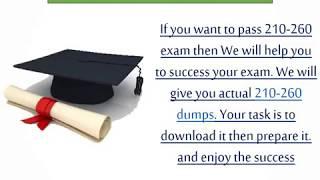 Latest 210-260 Dumps - 210-260 Exam Dumps