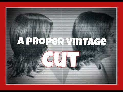 Making The Cut Haircuts For Vintage Styles Youtube