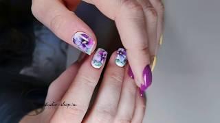 ПРИДУМЫВАЮ НА ХОДУ Рисуем на ногтях легко и быстро Весенний маникюр