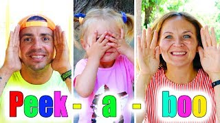 Peek-A-Boo from ABC Baby Show | Song Nursery Rhymes for kids!