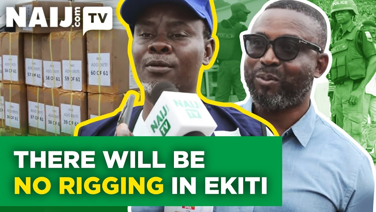 Ekiti State REC Reveals How INEC Will Stop Rigging In Forthcoming Election | Naij.com TV