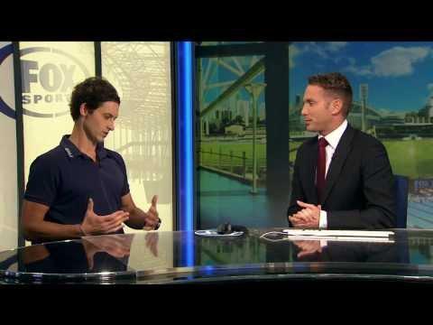 Fox Sports :  on Tanc Sade's No Fins National Freediving Record