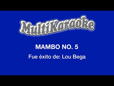 Multi Karaoke - Mambo No 5