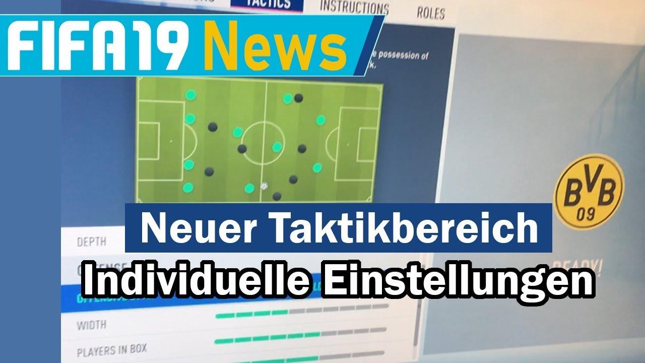 Fifa 19 Taktik Tipps Einstellungen Fifa 19 Taktikeinstellungen