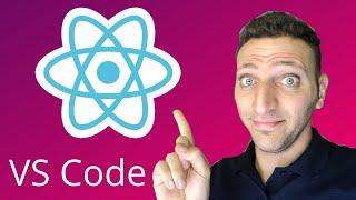 02- Vs Code Setup - Learn React in 2020