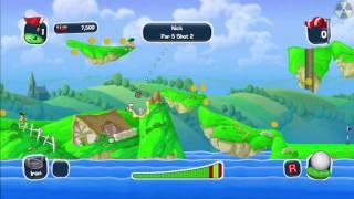 Worms Crazy Golf: 1/18 - Britannia (Holes 1-3)