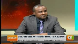 Power breakfast: One on One with Dr Mukhisa Kituyi
