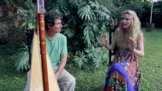 Joss Stone in Paraguay doing a collaboration with Nicolas Carter .#JSTWT